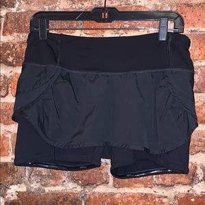 Lululemon skort black US8